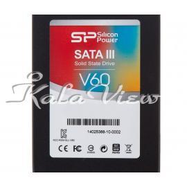 هارد اس اس دی کامپیوتر سیلیکون Power V60 SSD  60GB