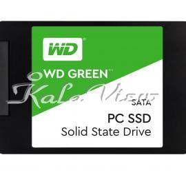 هارد اس اس دی کامپیوتر وسترن Digital GREEN WDS120G1G0A SSD  120GB