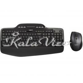 کیبورد کامپیوتر لاجیتک MK710 Wireless Desktop Keyboard and Mouse lable farsi
