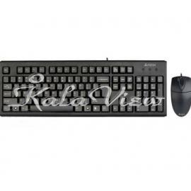 کیبورد کامپیوتر A4tech KM 72620D USB Keyboard and Mouse