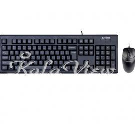 کیبورد کامپیوتر A4tech KR 8572 USB Keyboard and Mouse