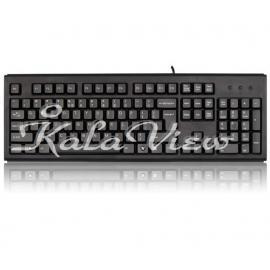 کیبورد کامپیوتر A4tech Wired Keyboard KR 83 PS 2