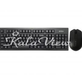 کیبورد کامپیوتر A4tech 3000N Keyboard And Mouse