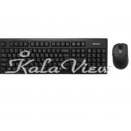 کیبورد کامپیوتر A4tech 7100N Wireless Keyboard And Mouse