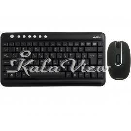 کیبورد کامپیوتر A4tech 7600N Keyboard And Mouse