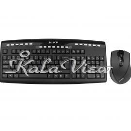 کیبورد کامپیوتر A4tech 9200F Keyboard and Mouse