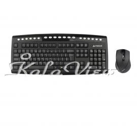 کیبورد کامپیوتر A4tech 9200F Wireless Keyboard and Mouse