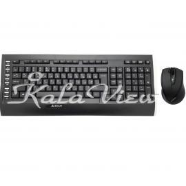 کیبورد کامپیوتر A4tech 9300F Wireless Keyboard And Mouse