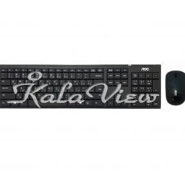 کیبورد کامپیوتر Aoc KM200 Wireless Keyboard And Mouse