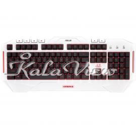 کیبورد کامپیوتر ایسوس Cerberus Arctic Gaming Keyboard