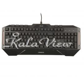کیبورد کامپیوتر ایسوس Cerberus Gaming Keyboard With Arabic Letters