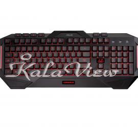 کیبورد کامپیوتر ایسوس Cerberus Gaming Keyboard