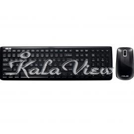 کیبورد کامپیوتر ایسوس W3000 Wireless Keyboard and Mouse