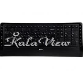 کیبورد کامپیوتر Beyond FCR 6920 Wired Keyboard With Persian Letters