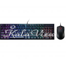 کیبورد کامپیوتر کولر مستر Masterkeys Lite L Combo Gaming With Mouse