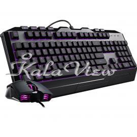 کیبورد کامپیوتر کولر مستر With Mouse Devastator3