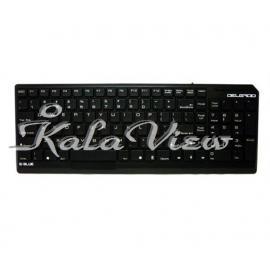 کیبورد کامپیوتر E blue Keyboard Delgado Black