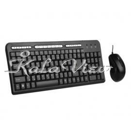 کیبورد کامپیوتر فراسو FCM 3440 Keyboard and Mouse