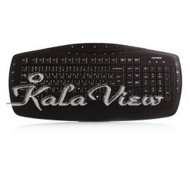 کیبورد کامپیوتر فراسو FCR 6160 PS 2 Internet and Multimedia Keyboard