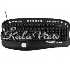 کیبورد کامپیوتر فراسو FCR 8900 Wired Keyboard With Persian Letters
