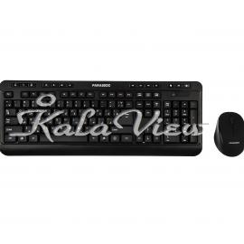 کیبورد کامپیوتر فراسو FCM 6868RF Wireless Keyboard and Mouse With Persian Letters