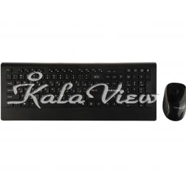 کیبورد کامپیوتر فراسو FCM 9595 Wireless Keyboard And Mouse With Perisan Letters