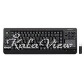 کیبورد کامپیوتر فراسو FCR 6700RF Entertainment Slim Keyboard With Smart Touchpad
