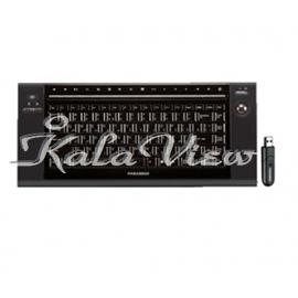 کیبورد کامپیوتر فراسو Wireless Media Control Keyboard With Trackball FCR 6500RF
