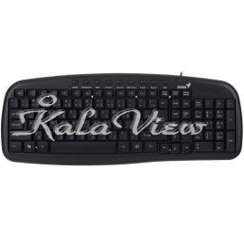 کیبورد کامپیوتر جنیوس KB M225C Keyboard with Persian Letters