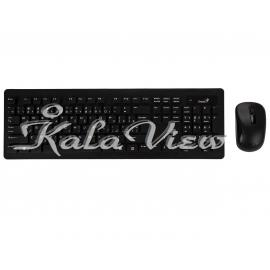 کیبورد کامپیوتر جنیوس SlimStar 8005 Keyboard and Mouse with Persian Letters