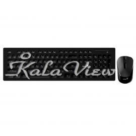 کیبورد کامپیوتر جنیوس Slimstar 8008 Bluetooth Keyboard and Mouse