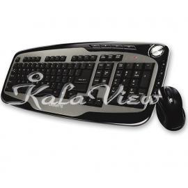 کیبورد کامپیوتر گیگابایت GK KM7600 Keyboard and Mouse