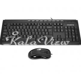کیبورد کامپیوتر گیگابایت GK KM6150 Keyboard and Mouse