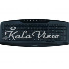 کیبورد کامپیوتر گرین GK 501 Keyboard With Persian Letters