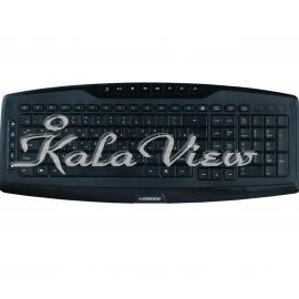 کیبورد کامپیوتر گرین GK 501 Official Multimedia Keyboard With Persian Letters