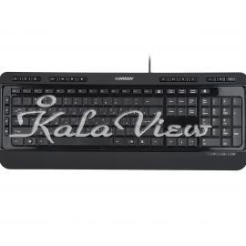 کیبورد کامپیوتر گرین GK 502 Keyboard With Persian Letters