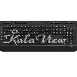 کیبورد کامپیوتر گرین GK 502 Official Multimedia Keyboard With Persian Letters