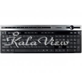 کیبورد کامپیوتر گرین GK 503 Keyboard With Persian Letters