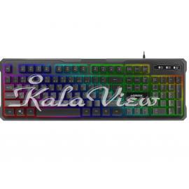 کیبورد کامپیوتر گرین GK601 RGB Gaming Keyboard
