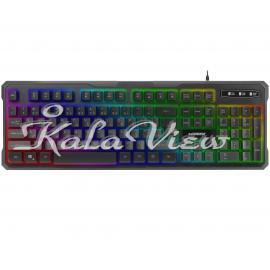 کیبورد کامپیوتر گرین Gk601 Rgb Gaming