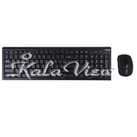 کیبورد کامپیوتر Hatron HKCW130 Keyboard And Mouse
