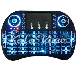 کیبورد کامپیوتر I8 Backlit Wireless Mini Keyboard