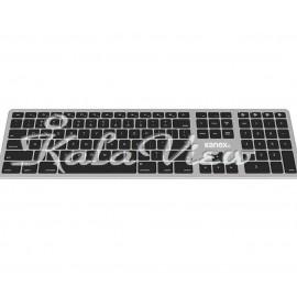 کیبورد کامپیوتر Kanex K166 1102 Wireless Keyboard