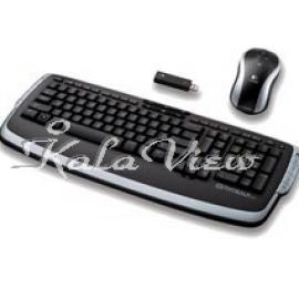 کیبورد کامپیوتر لاجیتک LX710 Wireless Keyboard and Mouse