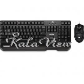 کیبورد کامپیوتر لاجیتک G100s Wired Keyboard and Mouse