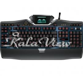 کیبورد کامپیوتر لاجیتک G19s Gaming Keyboard with Color Game Panel Screen