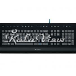 کیبورد کامپیوتر لاجیتک K290 Comfort Corded Keyboard