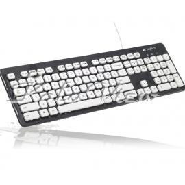 کیبورد کامپیوتر لاجیتک K310 Washable Corded Keyboard