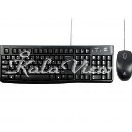کیبورد کامپیوتر لاجیتک MK120 Wired Keyboard and Mouse With Persian Letters