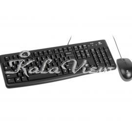 کیبورد کامپیوتر لاجیتک MK120 Wired Keyboard and Mouse